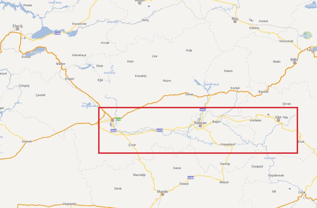 زلزال بقوة 5 درجات يضرب ولاية سيرت جنوب شرق تركيا