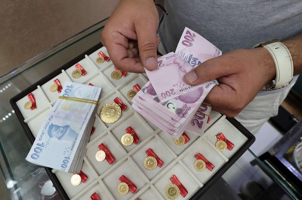 أسعار الذهب وصرف الليرة التركية مقابل الدولار واليورو