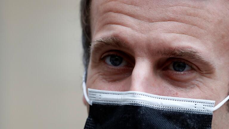 الإليزيه يعلن إصابة ماكرون بفيروس كورونا