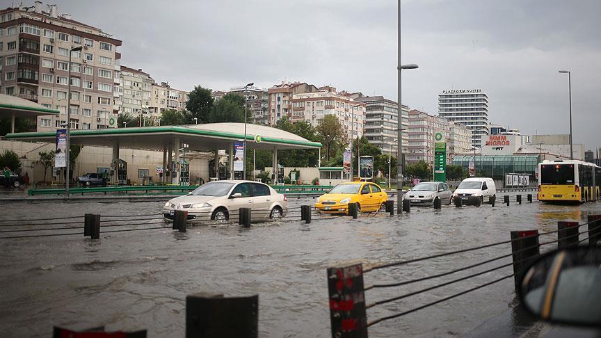 إنذار باللون الأصفر لإسطنبول.. ولايات تركية على موعد مع أمطار غزيرة غداً