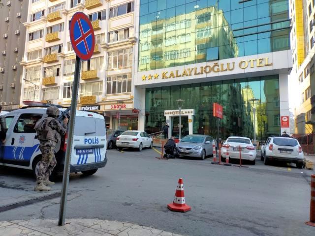 هجوم مسلح على فندق في ولاية كهرمان مرعش.. الشرطة تتدخل