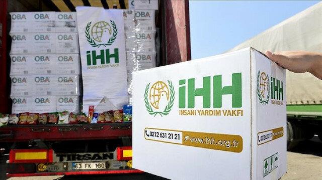 """""""İHH"""" توزع 470 طن خضار وفاكهة في سوريا"""