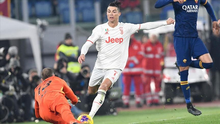 رونالدو يقود يوفنتوس للفوز على جنوى