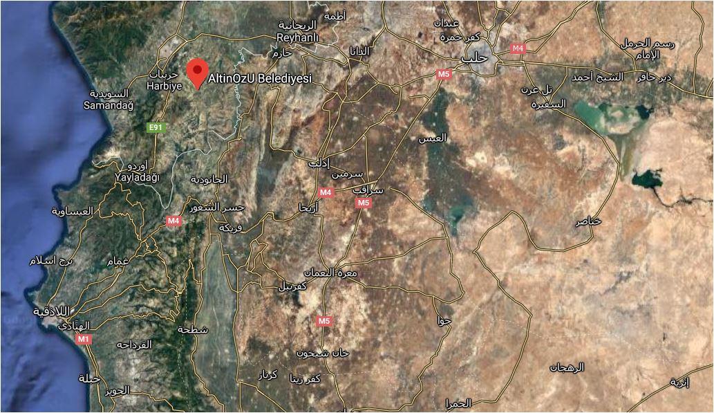 العثور على جثتي امرأة ورجل سوريين تجمدا من البرد عند الحدود التركية السورية