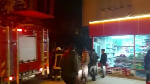 إنقاذ لاجئ سوري من حريق في منزل بولاية عثمانية