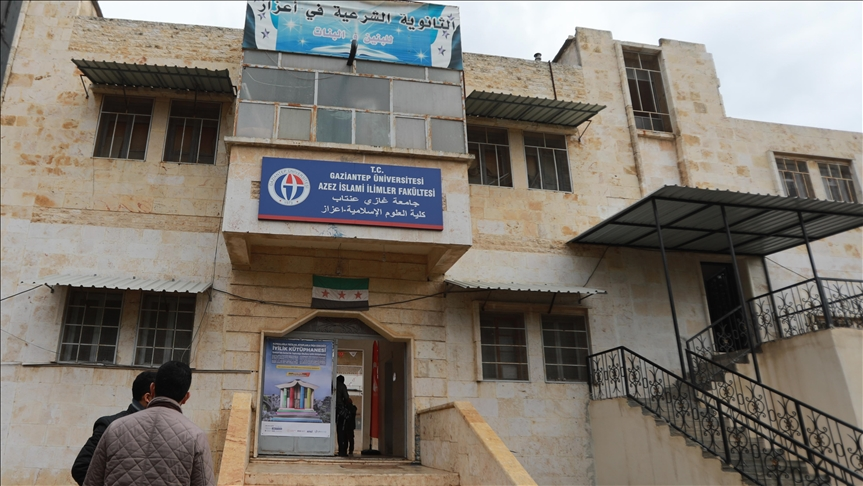 افتتاح أول مكتبة لدعم التعليم شمالي سوريا برعاية تركية