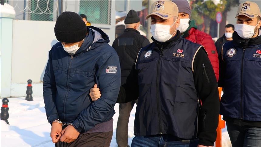 بتهمة الانتماء لتنظيم الدولة.. توقيف 9 أجانب شمالي تركيا