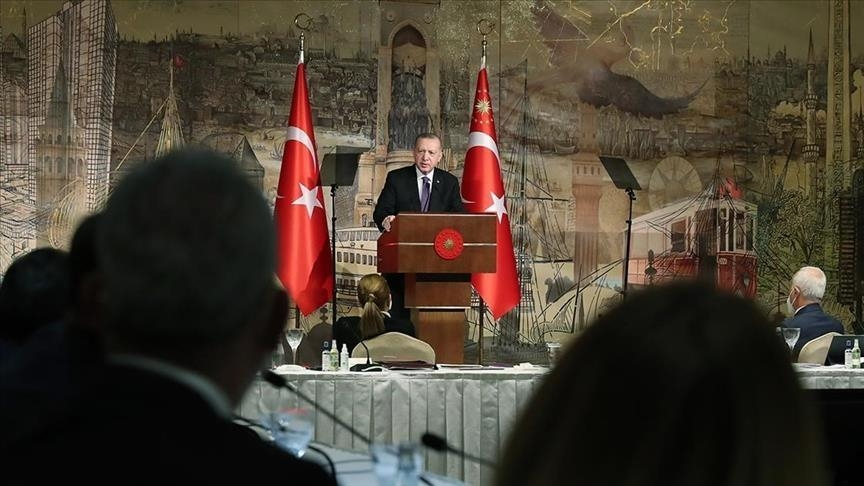 أردوغان: دخلنا مساراً جديداً في العلاقات التركية الأوروبية