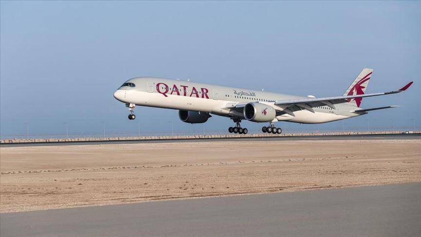 طائرة ركاب قطرية تهبط اضطراريا جنوب شرقي تركيا