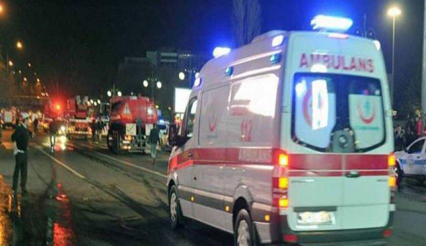 إصابة سوريين بحادث تصادم دراجة نارية وسيارة في بورصة