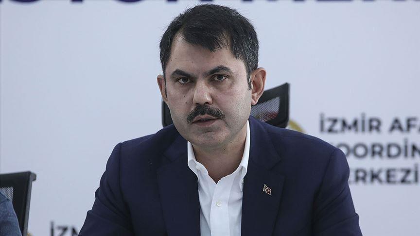وزير تركي: لا أضرار مثبتة حتى الآن جراء زلزال إزمير