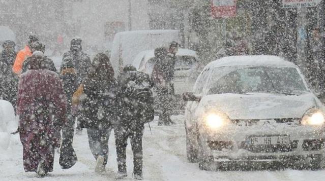 تحذير من ثلوج وأمطار غزيرة ستضرب 5 ولايات تركية
