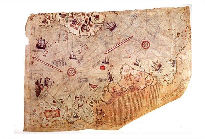 """خرائط """"بيري ريس"""" التي أدهشت علماء الغرب (إضاءات عثمانية)"""