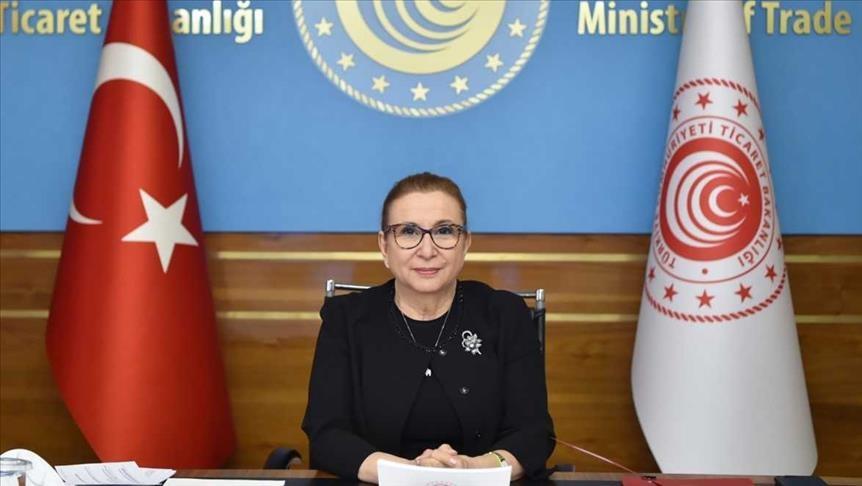 وزيرة التجارة: تركيا سجلت نجاحات مهمة في تعزيز دور المرأة