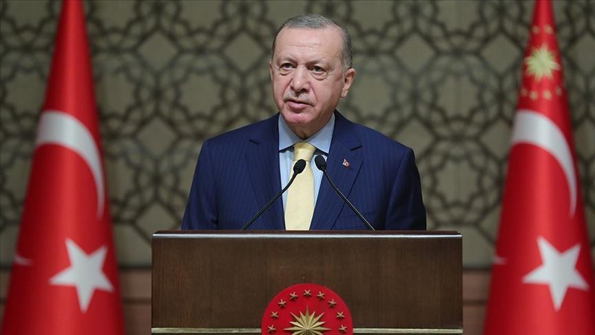 الرئيس أردوغان يهنئ المرأة بيومها العالمي