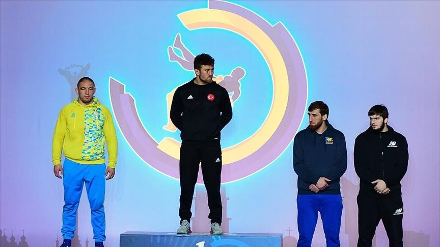 مصارعة.. تركيا تحصد 4 ميداليات في بطولة أوكرانيا الدولية