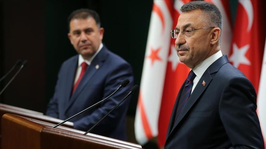 نائب أردوغان: لا نستطيع تجاهل الحصار غير العادل على قبرص التركية