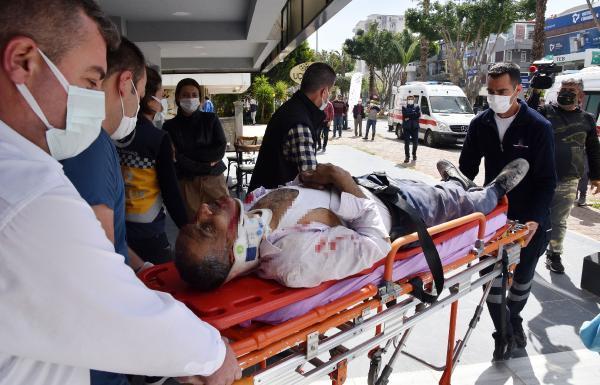 إصابة عامل سوري إثر انهيار جدار منزل عليه في أنطاليا