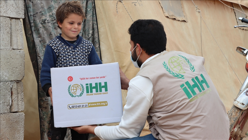 تركيا ترسل مساعدات رمضانية إلى 850 ألف شخص في سوريا