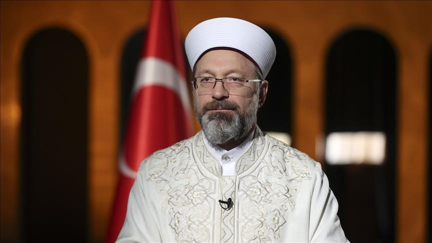 """رئيس الشؤون الدينية التركية يطالب الاحتلال الإسرائيلي بوقف """"ظلمه"""" للفلسطينيين"""