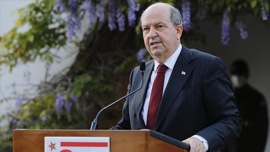 رئيس شمال قبرص التركية: سيادتنا واستقلالنا وضمانة تركيا عناصر لا غنى عنها