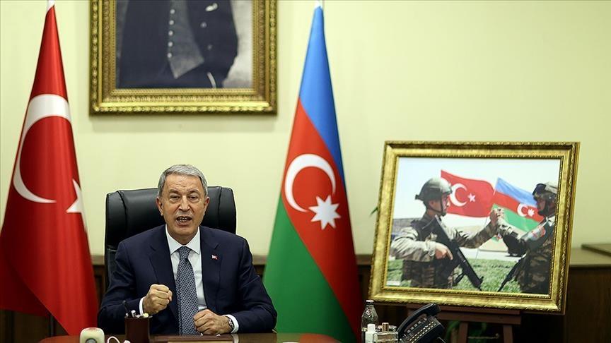 أكار: تركيا وأذربيجان تهدفان لتعزيز التعاون بين جيشيهما