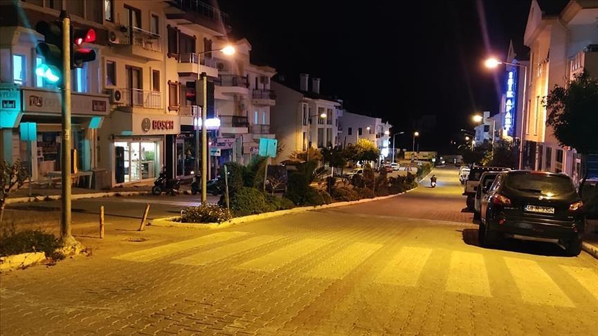 زلزال بقوة 4.8 يضرب سواحل موغلا غربي تركيا