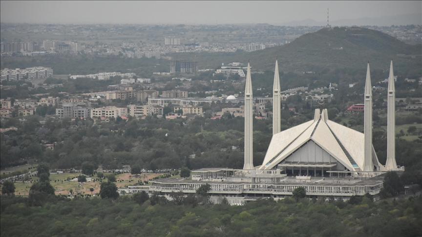 """مسجد """"الملك فيصل"""".. رمز باكستان بتصميم تركي"""