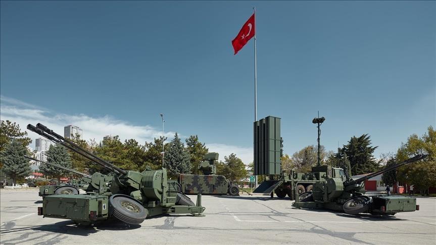 تسليم منظومات دفاع جوي قصيرة المدى للجيش التركي