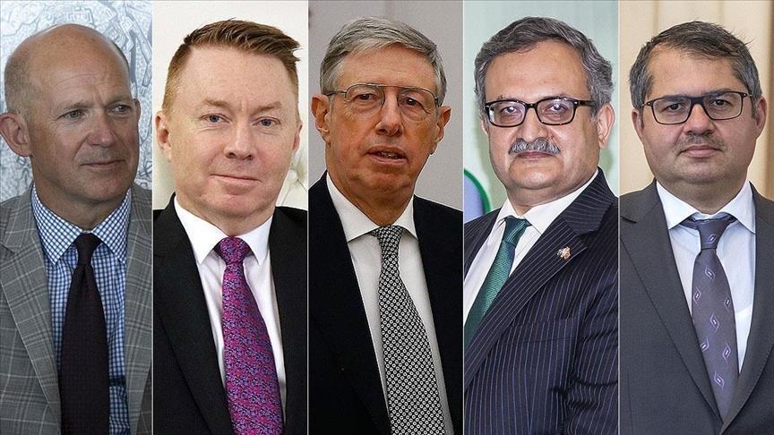 دبلوماسيون أجانب يشيدون بجهود تركيا في مكافحة كورونا