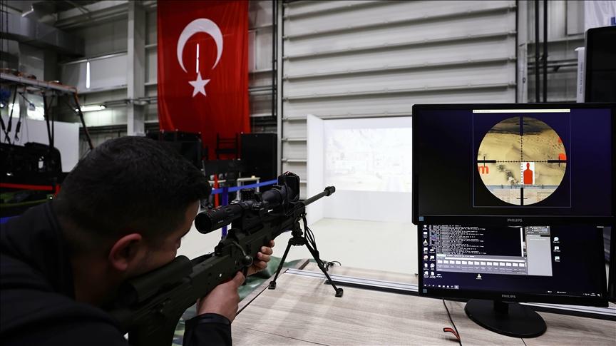 جهاز محاكاة محلي لبنادق القنص يدخل الخدمة في الجيش التركي
