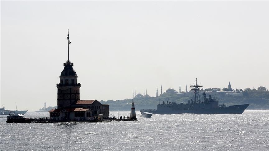 واشنطن تبلغ أنقرة إلغاء مرور سفينتين حربيتين من المضائق التركية
