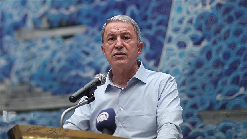 أكار: تركيا تحترم حدود دول الجوار وسيادتها