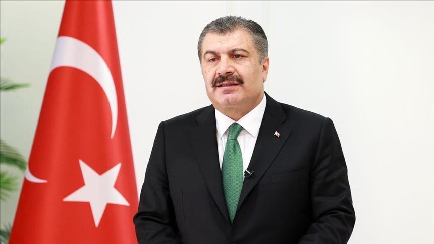 وزير الصحة التركي: انخفاض ملحوظ في إصابات كورونا