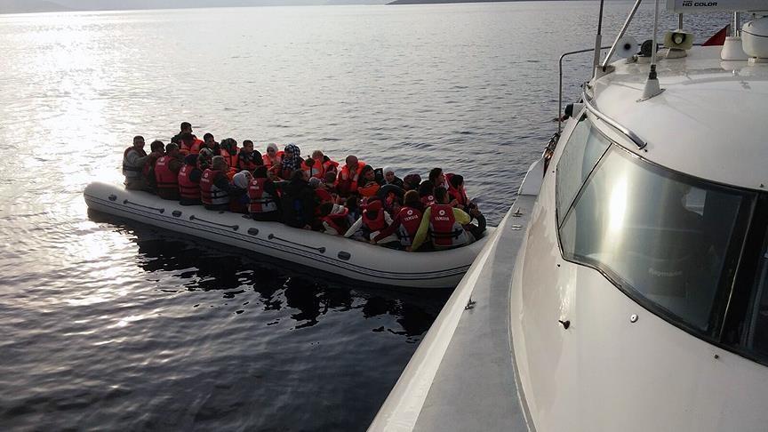 تركيا.. ضبط 62 طالب لجوء حاولوا مغادرة البلاد بطرق غير قانونية