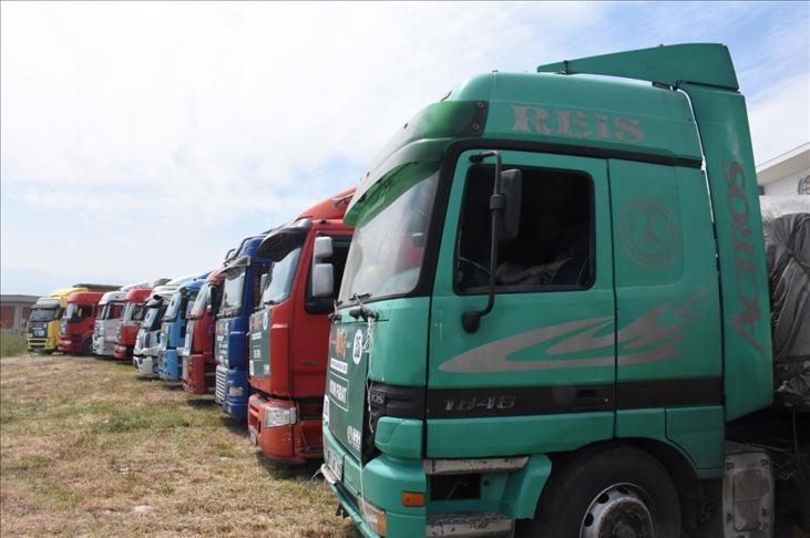 """منظمة """"İHH"""" التركية ترسل شاحنات محملة بالمساعدات إلى سوريا"""