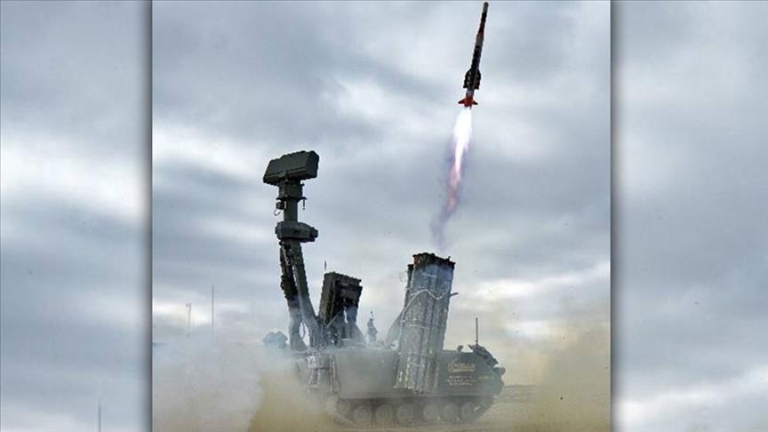 """تركيا.. اختبارات ناجحة لمنظومة الدفاع الجوي """"حصار أ"""""""