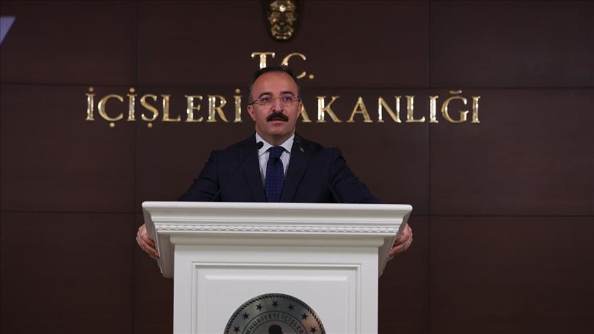 """الداخلية التركية تعلن تحييد 115 """"إرهابياً"""" بينهم 8 قياديين خلال نيسان"""