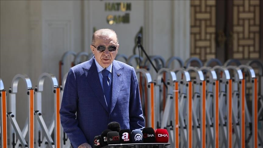 أردوغان: قمة الناتو فرصة لبحث العلاقات مع واشنطن وباريس