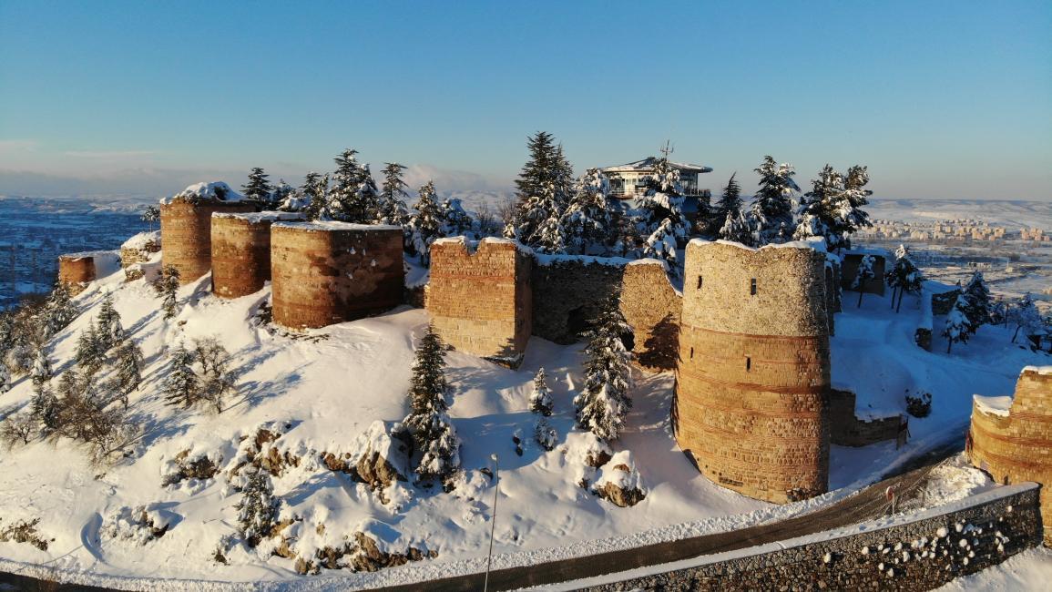 تعرف إلى ثالث أكبر القلاع التاريخية في تركيا