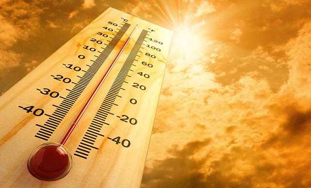 """""""شاهد منطقة سكنك""""..الأرصاد الجوية تصدر خريطة تحذيرية لارتفاع درجات الحرارة في عموم تركيا"""