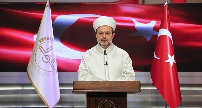رئيس الديانة التركي يكشف تحركاته ليلة الانقلاب