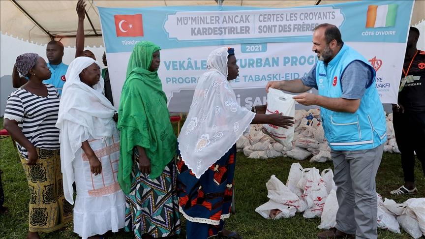 خلال عيد الأضحى.. مساعدات تركية لـ 40 ألف أسرة في كوت ديفوار
