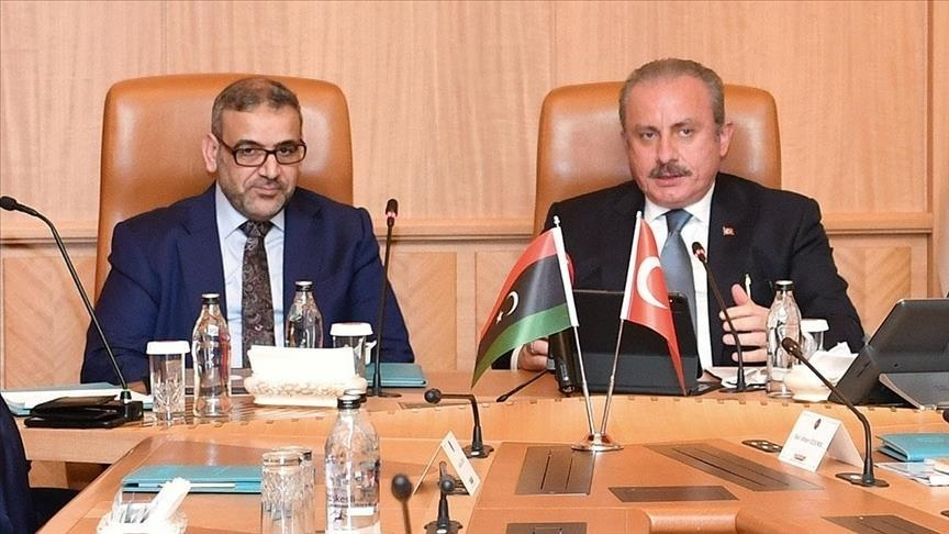 شنطوب والمشري يؤكدان أهمية إجراء الانتخابات الليبية بموعدها