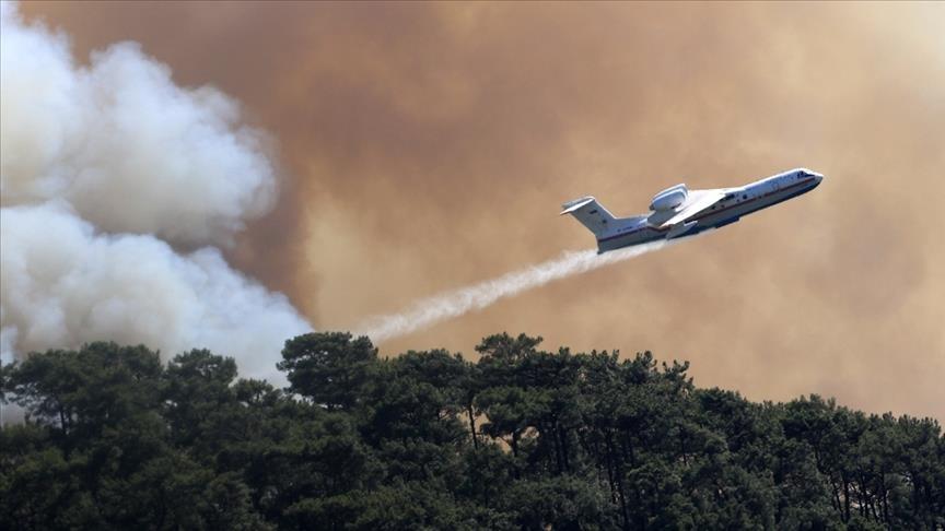 تركيا.. حريق غابات جديد في ولاية إسبارطة