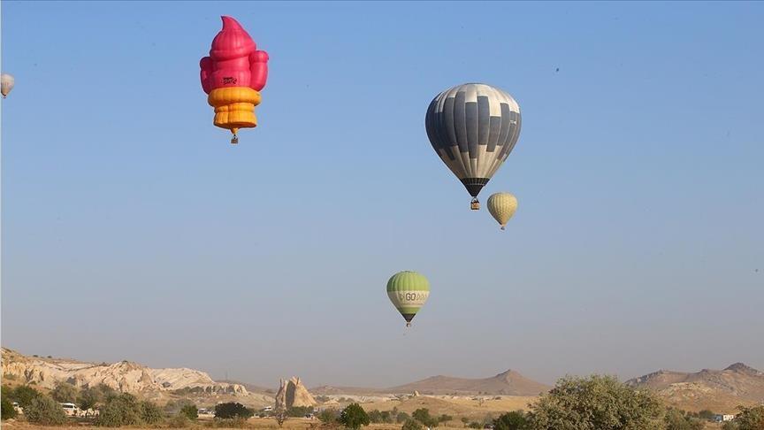 تركيا.. انطلاق مهرجان المناطيد الدولي في كبادوكيا