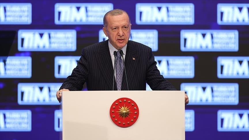 أردوغان: صادراتنا سجلت رقما قياسيا جديدا بتجاوزها 200 مليار دولار