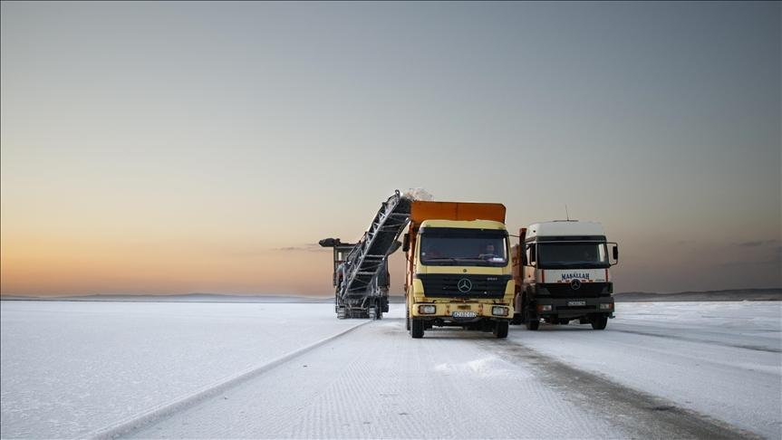شركة تركية تصدر آلاف الأطنان من الملح إلى 70 دولة