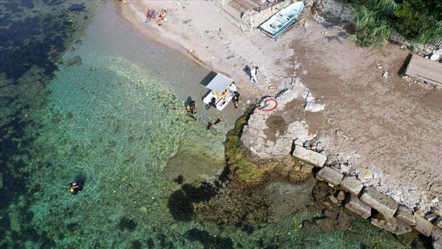 تنقيب تحت الماء عن ميناء أثري بولاية قوجة إيلي