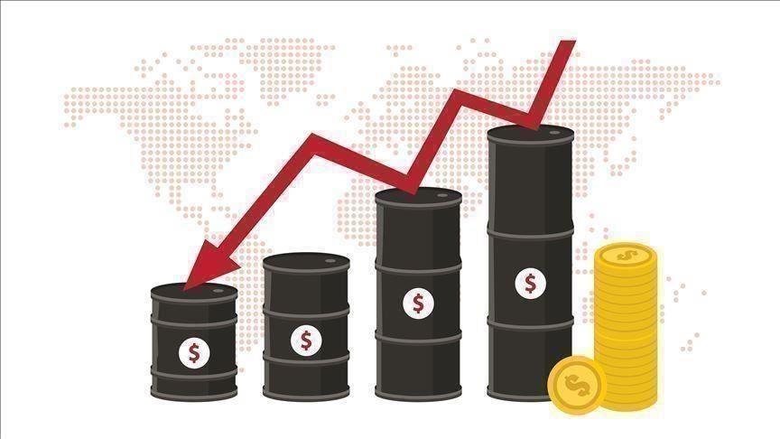 أسعار النفط تهبط بضغط تحسن الدولار وتعافي إنتاج الخام الأمريكي